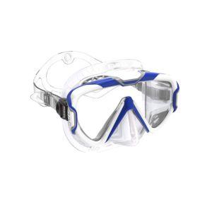 Mares  Pure Wire Mask White Silicone